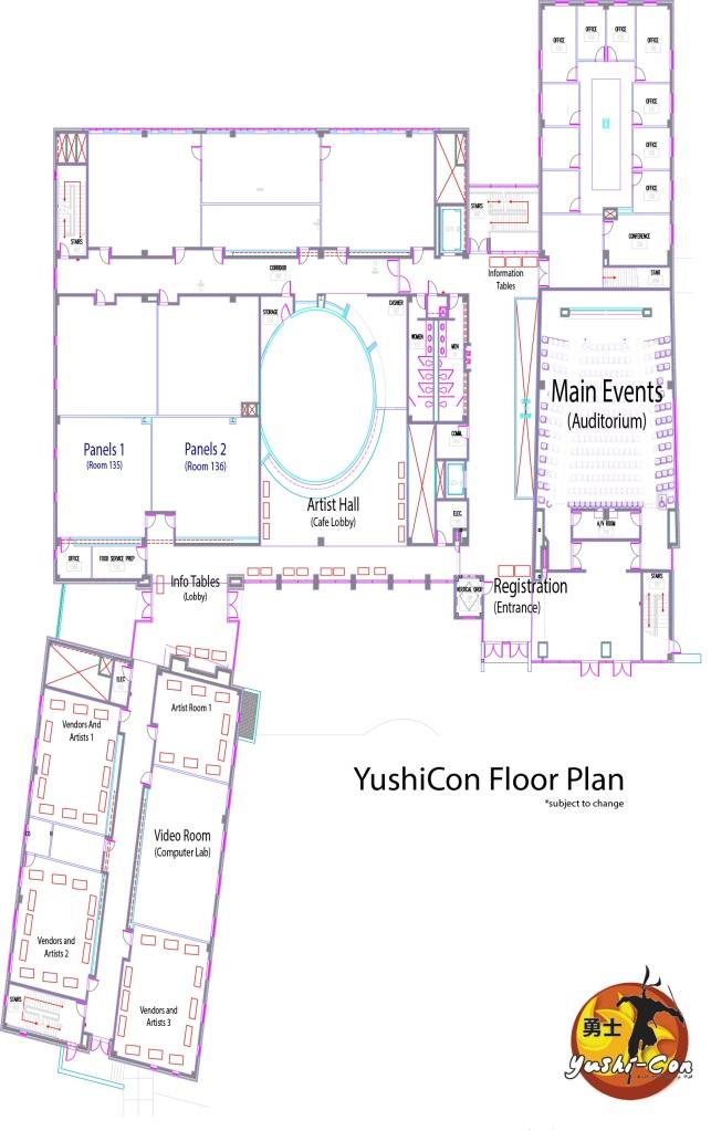 YushiCon Floor Plan (Rough Draft)
